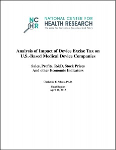 analysis of impact of device excise tax